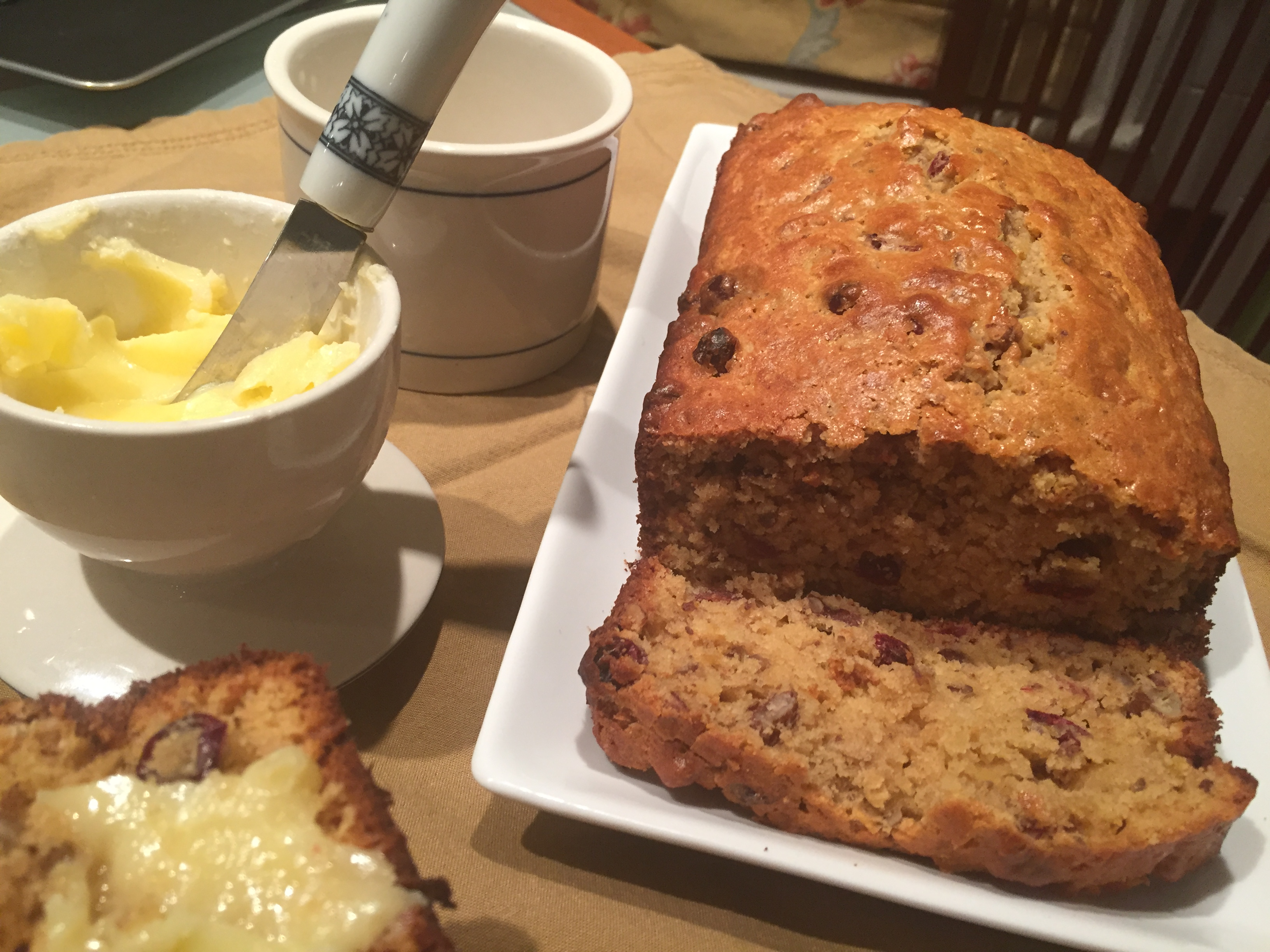 Cranberry Orange Pecan Bread - CSA|365